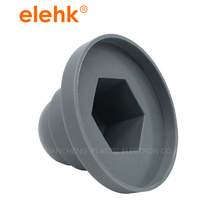 White or black good price plastic hex nut caps with fast delivery