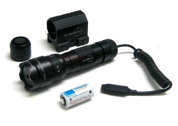 Vector Optics Blackout 100mW Green laser Sight