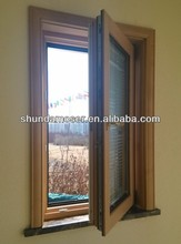 Moser turn and tilt 2014 new style wood-aluminum vacuum glass window