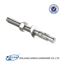 Different types of M16 M20 M22 M24 M25 stainless steel hilti anchor bolt with low price