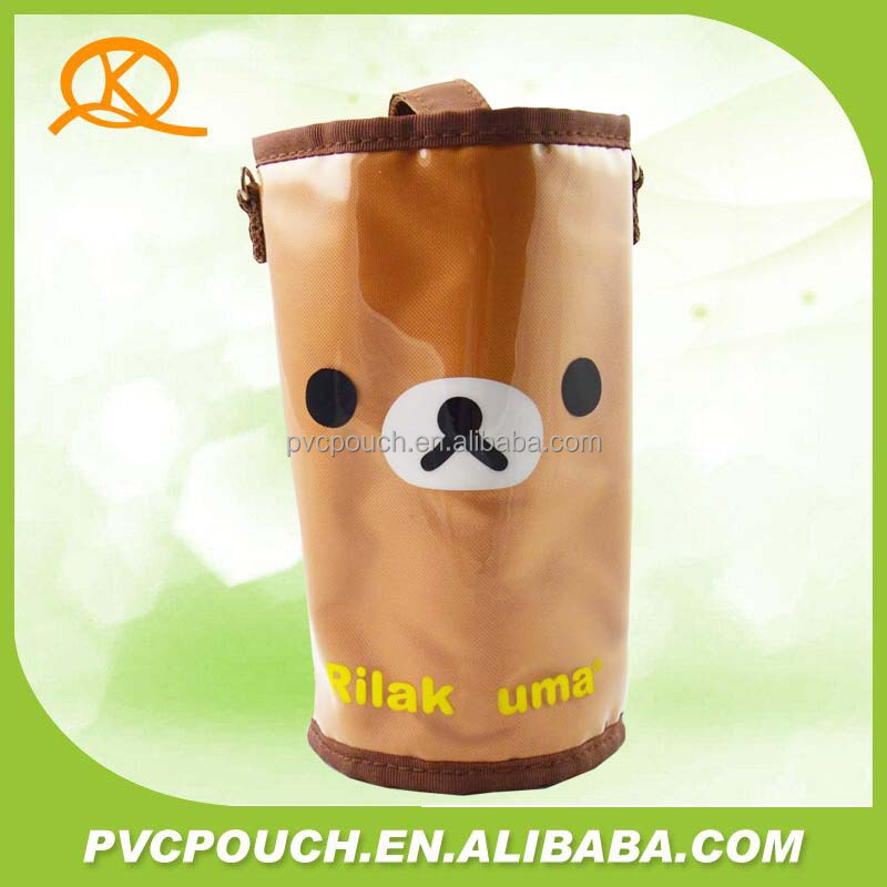 Green and Environmental Protection transparent PVC cartoon printed vacuum cup bag