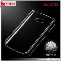 Flexible price factory direct supply pc mobile phones covers for lg k520