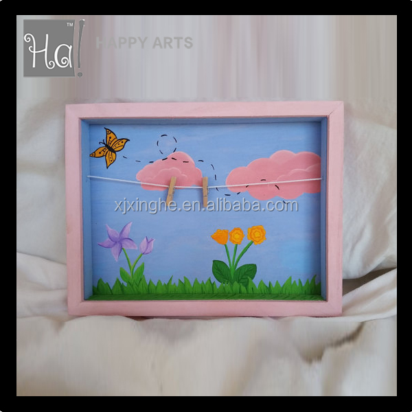 Baby Clothes Washing Line Frame photo frame