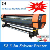Konica flex banner digital printing machine