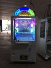 2017 popular key master claw game machine/ arcade game machine for hot sales