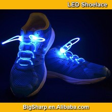 LED Light Shoelace Neon Charming 7 Color Flashing LED Shoes Light in Dark Party Accessories SL004