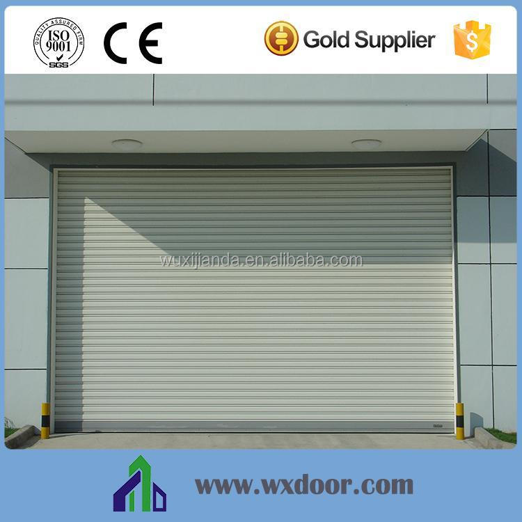 New design galvanized steel industrial rolling gate rapid roller shutter high speed door