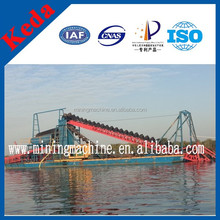Gold Panning China River Chain Bucket Gold Dredger For Sale