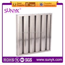 Factory made high quality the America restaurant stainless steel grease baffle filter