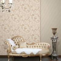 Good manufacturer High quality blown vinyl wallpaper damask wall paper custom wallpaper