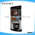 3 Hot & 3 Cold Auto Coffee Dispenser Coin Operated Vending Machine for Sale