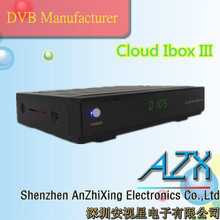 full hd sateliite tv receiver cloud ibox dvd-s2 iptv
