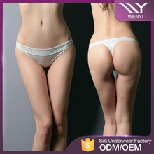 Wenyi brands low waist new designs lady panties wholesale price silk woman underwear