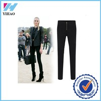 Trade Assurance 2015 Yihao Latest Women's Plus size Casual Lady pencil High-waisted Pants