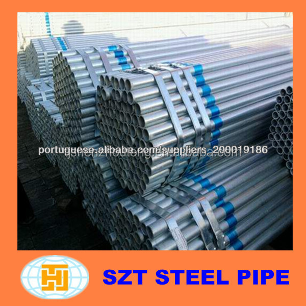 "high quality galvanized steel electrical 3/4"" emt tube from China"