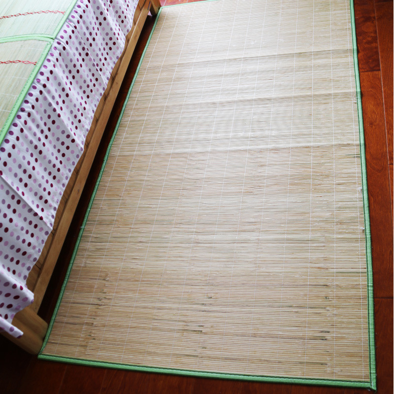 Modern Japanese Style Summer Cooling Natural Bamboo Bed Floor Mat