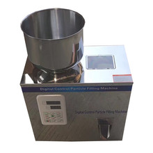 2-100g Particle Filling Machine with foot pedal for Tea Bean Seed Particle