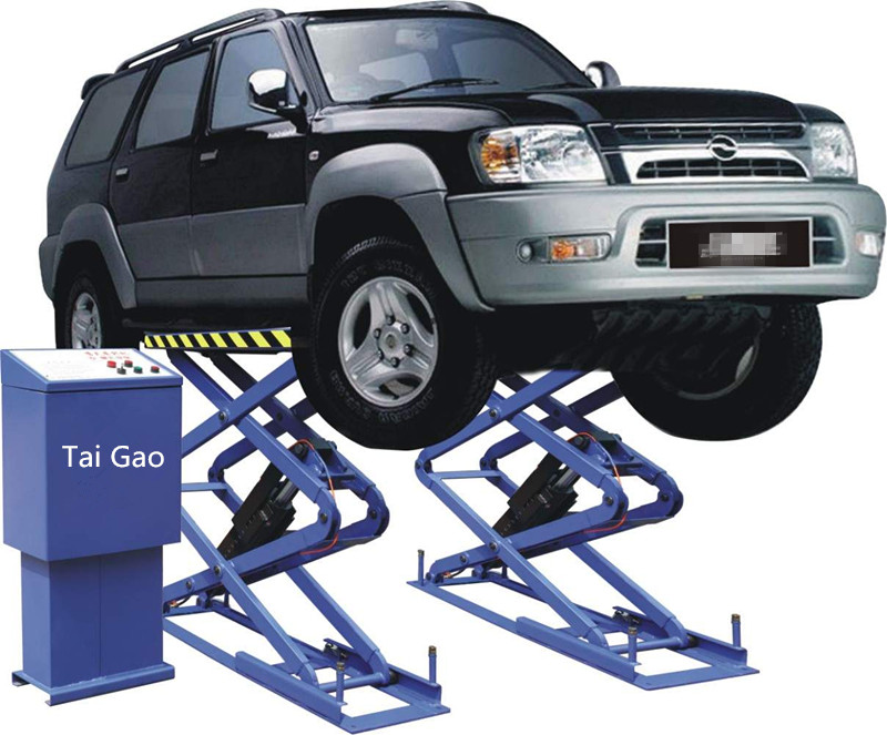 Quick Maintenance Used Portable Hydraulic Garage Car jack Lift for Car Wash With Cheap Price