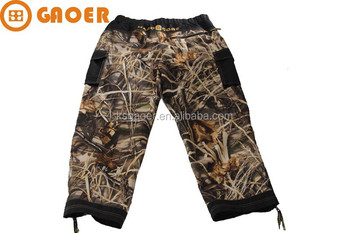 Brand camouflage hunting pant with mossy oak pattern