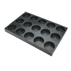 Non stick hamburger baking tray, hamburger trays, hamburger bun baking pan