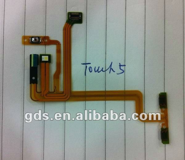 power flex cable for ipod touch 5 on/off volume flex cable
