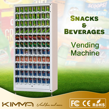 Drop Sensor Vending Machine for Beer , Candy Bar