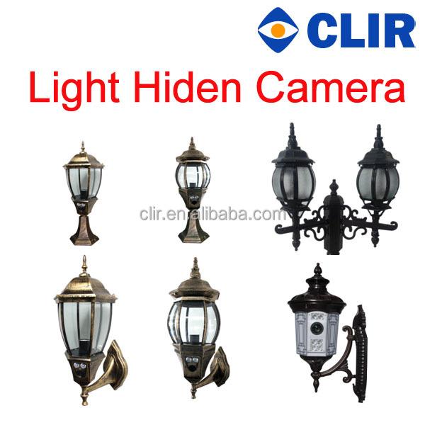 Porch Light With Camera: Ir Hdcvi Camera Outdoor Road Light Hiden Camera