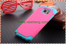 Fashion Custom Printing for samsung galaxy s5 2in1 pc+silicone hard case