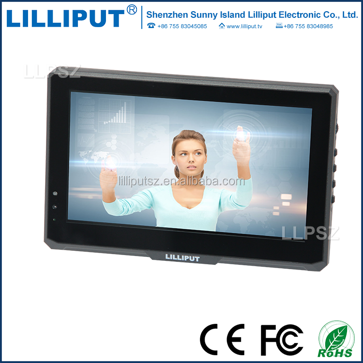 "7"" LED backlit, 16:9 Touch Screen Monitor"