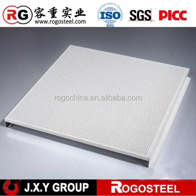 ISO Fireproof voice absorption aluminum honeycomb core sandwich panel