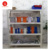 Supermarket Display Metal Convenient Goods Shelving Shelf
