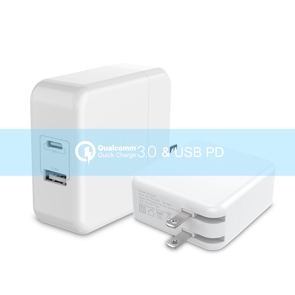 USB Type C Charger 42W Wall Charger PD type c charger for Macbook