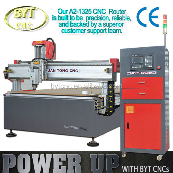 New Design BYT A2 cnc router machine high quality cnc router with italy spindle