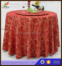 palace jacquard tablecloth elegant design home hotel banquet wedding table cloth Textile Decoration