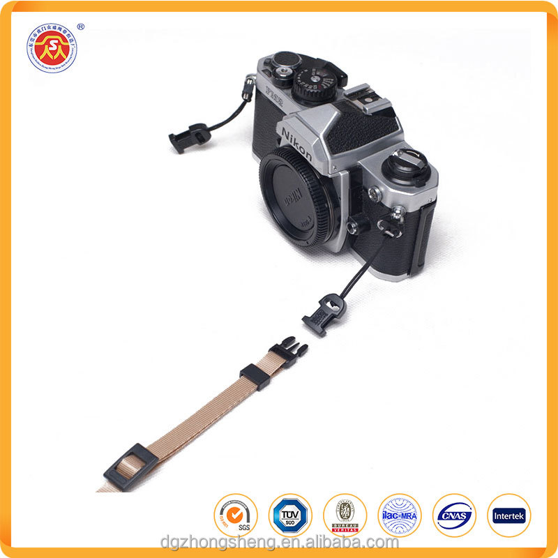 Factory direct supply manufacturer provide adjustable nylon camera strap with custom logo