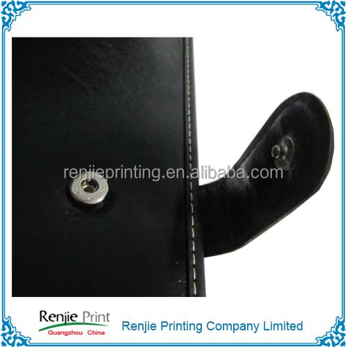 PU Leather Cover Business Notebook, Diary Notebook