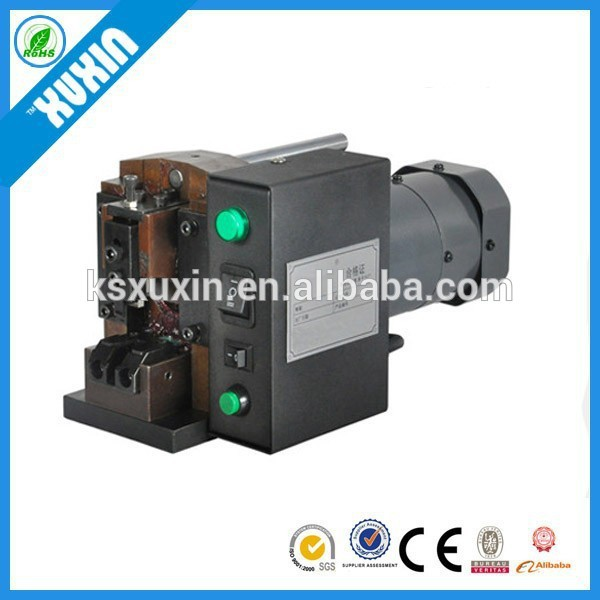 mini din connector cable crimping machine X-2P