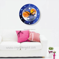 Simple modern decor embroidery clock kits