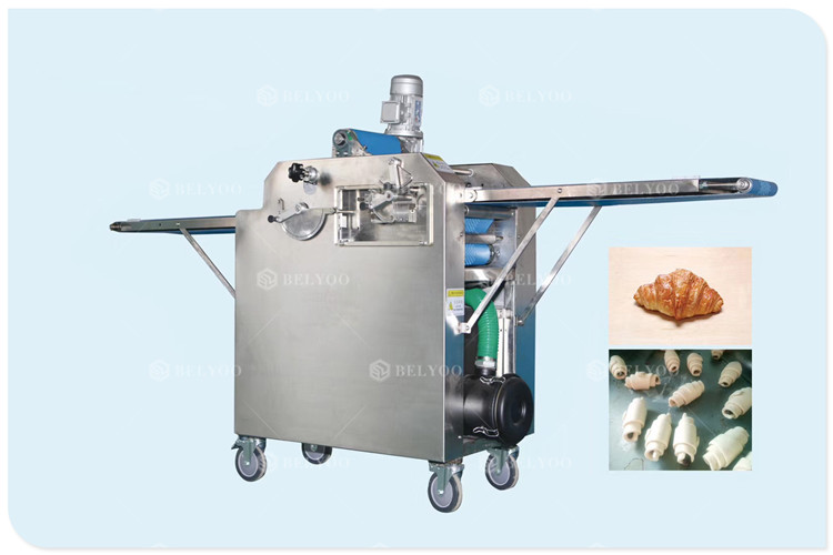 High Quality Demark Crisp Croissant Bread Production Line Used Machine Equipment