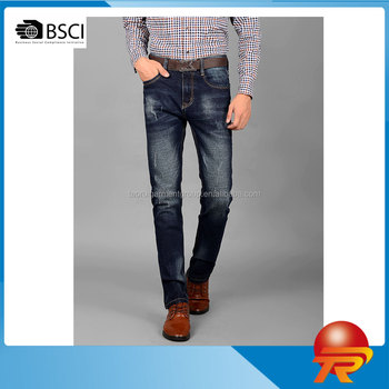 Fashion Business Denim Jeans Pants For Men Made In China OEM Man Jeans Trousers High Quality