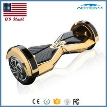 Factory price Smart balance Two wheel gold hoverboard 8 inch