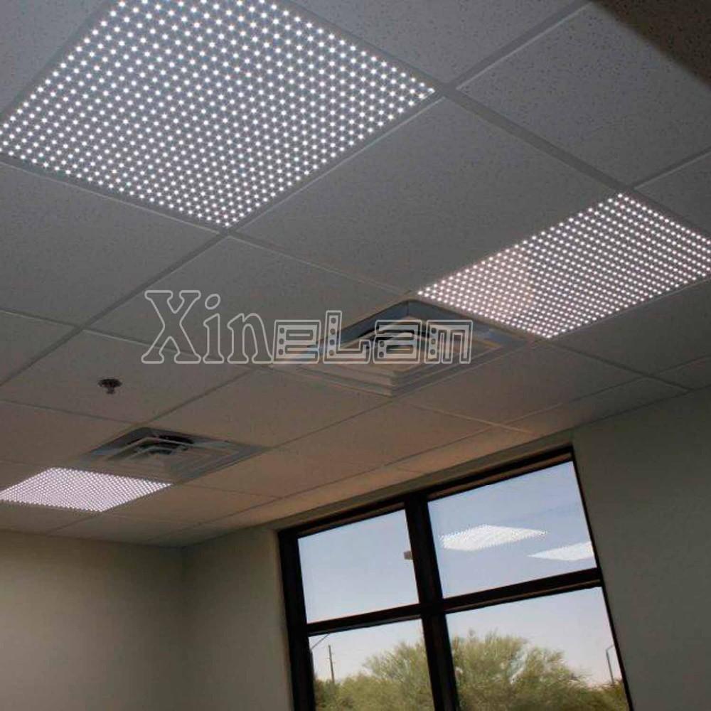 smd5050 58w frameless 2x2 led drop ceiling light panels