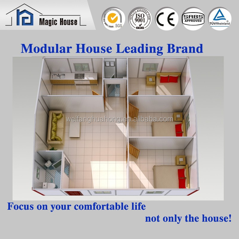 prefabricated house price, Prefabricated Modular House quick installation, knock down house