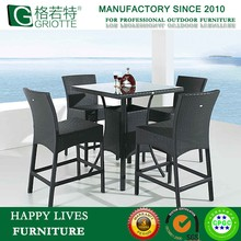 Plastic PE Rattan Wicker Used Commercial Bar Sale HL-6724