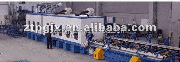 Stainless steel square tube polishing machine