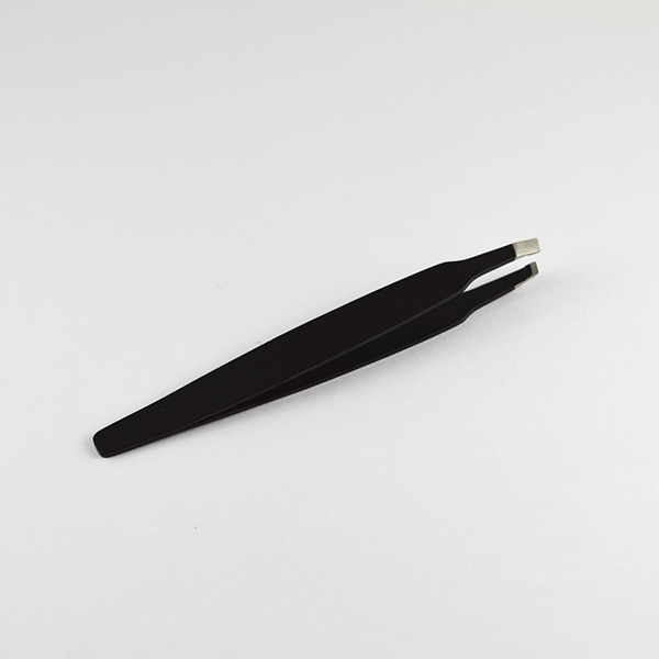 2014 new Stainless Steel Eye brow black Tweezers