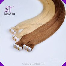 Quality guaranteed double sided tape synthetic hair extension