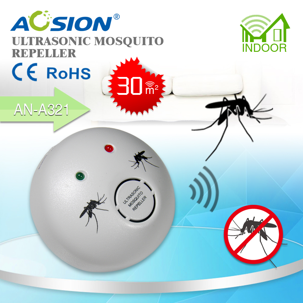 Aosion Indoor smart sensor ultrasonic mosquito repeller AN-A321