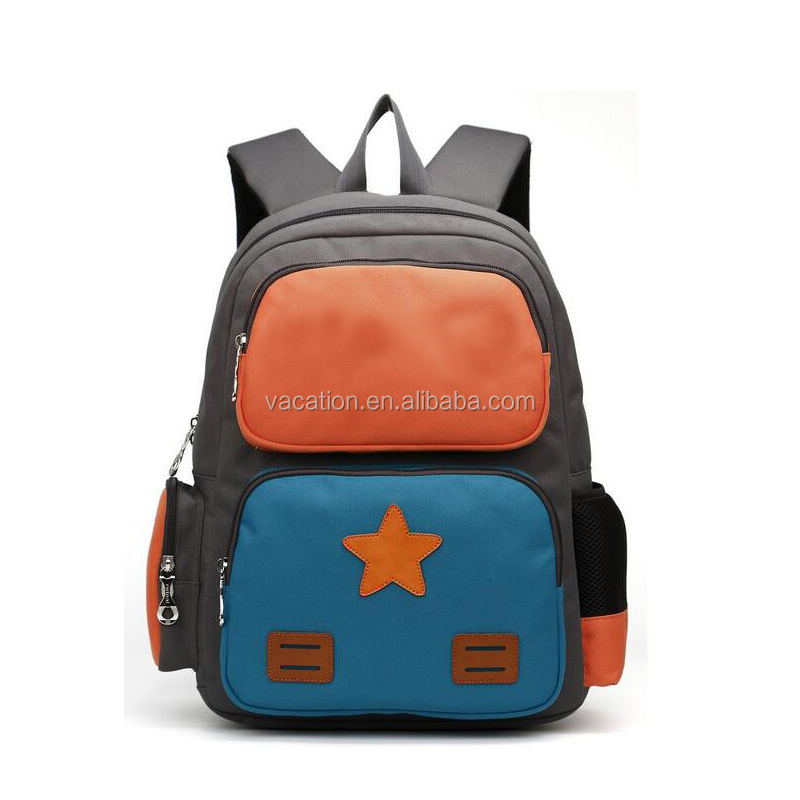 2d 3d cartoon canvas satchel backpack bag