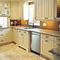 modern style and plywood carcase material kitchen cabinet design